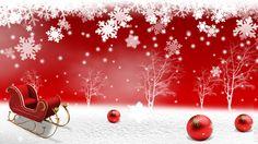Red Snowflake Christmas