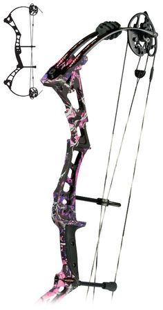 Darton DS-3800SD....sweet in muddy girl camo! This is what my Diamond Bowtech will look like...after hunting season lol