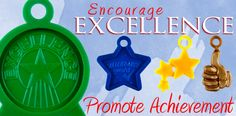 Encourage excellence and promote achievement with these inexpensive awards.