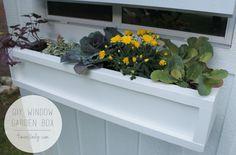 DIY Window Garden Boxes by Ace Blogger @4men1Lady