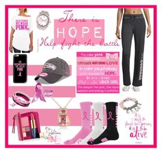 """Brats cancer fight"" by tori-holbrook-th ❤ liked on Polyvore featuring Made For Life, Estée Lauder, Kim Rogers, Kobelli and Casetify"