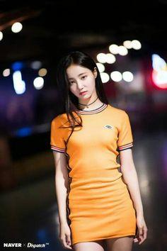 Bildergebnis für yeonwoo momoland baam - Super K-Pop K Pop, Pretty Asian, Beautiful Asian Girls, Korean Beauty, Asian Beauty, Korean Girl Groups, South Korean Girls, Mode Ulzzang, Orange Dress