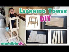 Das genialste Möbelstück für Kleinkinder | DIY Learning Tower | mamiblock - YouTube