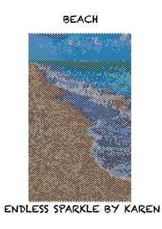 Beach Peyote Tapestry