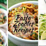 Zoodles Pasta Recipes