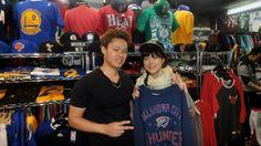 【新宿2号店】 2014年4月16日 仲良しの御二方♡CAPとロンTeeをご購入頂きました~!! また遊びに来てくださいヽ(*>∇<)ノ #nba
