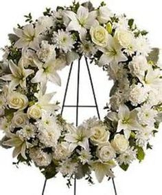 Funeral Flowers for a Male - Bing Images