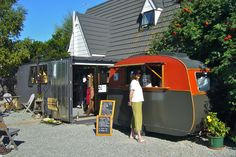 favorite New Zealand cappuccino stand - love it!