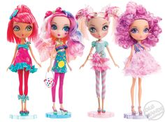 Idle Hands: Toy Fair 2012 : Spin Master : La Dee Da Dolls - Sweet Party Collection