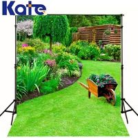 Kate Photography Backdrops Photo Background Natural Scenery Meadow Old Carts Backgrounds Backgrounds For Photo Studio Ff0008