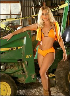 Are mistaken. Babes on tractors nude opinion you
