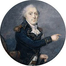 "Pierre Thouvenot (9 March 1757 – 21 July 1817) was a French Army officer who served with distinction in the American Revolutionary War. He fled from France during the revolution but returned under an amnesty and went on to serve in Napoleonic Wars. Thouvenot is most famous for his defence of Bayonne in 1814 and the sortie he made when the war was all but over, which drew criticism from both sides, particularly from the Duke of Wellington, who branded him a ""blackguard"""