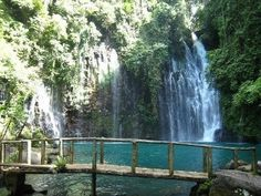Tinago Falls, Illigan City, Philippines. This is one of my favorite places on earth, the water is perfect... everything about this place is perfect. I can't wait to go back!