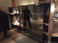 Room divider bookshelf from Maxalto