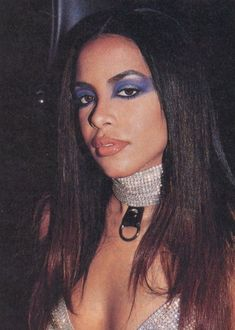 Aaliyah on the set of Try Again for the soundtrack to Romeo Must Die (2000).