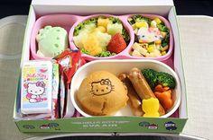 Airplane food! Hello Kitty Airplane   POPSUGAR Tech