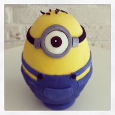 Minion chocolate egg