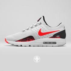 Nike Air Max Zero Hot Lava
