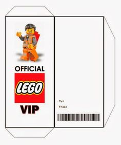Free printable lego birthday invitations pinterest lego birthday rook no recipes crafts whimsies for spreading joy free printable ticket style party invitations the lego movie filmwisefo