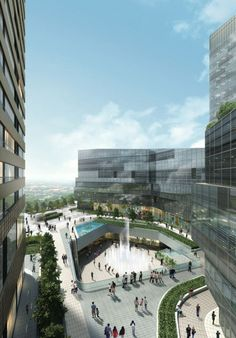 20 Beautiful Examples Of Residential Architecture: Raffles City in Ningbo, China – SPARCH
