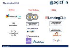 En el año 2014 el mercado de los préstamos P2P ha crecido de forma considerable…