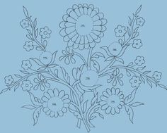 silk embroidery pattern | Some Images Of Silk-Ribbon Embroidery Patterns