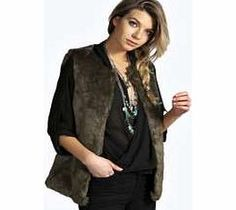 boohoo Short Faux Fux Gilet - olive azz14248 Breathe life into your new season layering with the latest coats and jackets from boohoo. Supersize your silhouette in a quilted jacket, stick to sporty styling with a bomber, or protect yourself from http://www.comparestoreprices.co.uk/womens-clothes/boohoo-short-faux-fux-gilet--olive-azz14248.asp