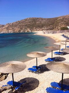 Agrari Beaches, Mykonos, Greece