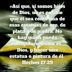 Hay q buscar a DIOS en espíritu y verdad.
