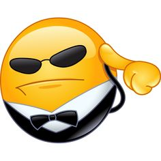 Illustration about Bodyguard emoticon listening to his earpiece. Illustration of emoji, clipart, person - 61856973 Funny Emoji Faces, Funny Emoticons, Smileys, Smiley Emoticon, Emoticon Faces, Smiley Faces, Smiley T Shirt, Images Emoji, Emoji Symbols