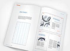 Corporate Design Manual Verucon. Typografie, Bildsprache und Gestaltungsraster.