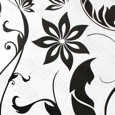Vine Frame - G - Large Wall Decals Stickers Appliques Home Decor