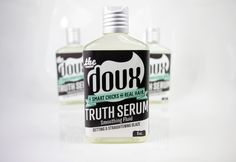 TRUTH SERUM Smoothing Fluid. Curly & Straight Glaze for Smart Chicks With Real Hair- www.thedoux.com