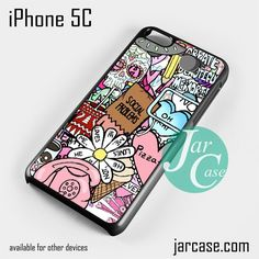 hipster collage Phone case for iPhone 5C and other iPhone devices