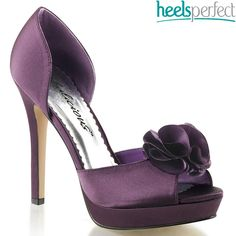 Peep Toe Pumps High Heels