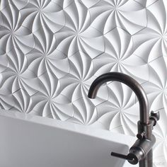 Cast™from Inhabit® is a collection of nesting sculptural tiles cast from concrete. Cast reimages concrete as flowing and gentle. Capturing the magic of the toy we all loved as kids the Kaleidoscope 3D Concrete Sculptural Tiles mimic the interaction of pattern and shape creating a living wall that seems to move and change right in front of your eyes. The contextual design takes its cues from its environment offering up modular tiles that work effortlessly together to create an uninterrupted…