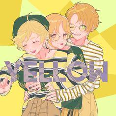Ensemble stars Manga Anime, Anime Art, Anime Best Friends, Comedy Anime, Handsome Anime, Star Art, Cartoon Games, Ensemble Stars, Aesthetic Anime