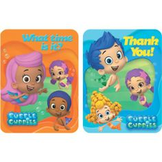 Bubble Guppies Invitations and Thank You Notes 8 Ct Amscan,http://www.amazon.com/dp/B00DLLWHN8/ref=cm_sw_r_pi_dp_lAUstb1BZF98X1WS