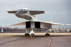 The North American XB-70 Valkyrie.