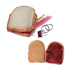 A PB&J zip-pocket coin purse, which, if you were wondering, also comes in taco, hamburger, ice cream sandwich, pizza, and hot dog. | 21 Awesome Products From Amazon To Put On Your Wishlist
