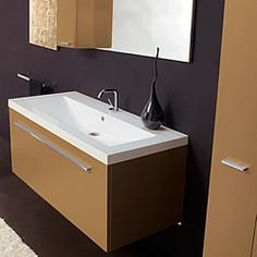 Bathroom furniture and accessories made in Italy - Siena - Monteriggioni Italian Bathroom, Minimal Design, Bathroom Furniture, Beautiful Interiors, Innovation Design, Small Bathroom, Teak, How To Memorize Things, San Francisco