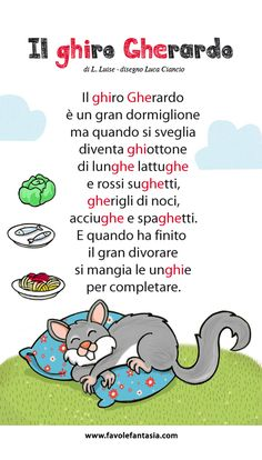 Il Ghiro gherardo_Ciancio Luca Italian Grammar, Italian Language, Primary School, Elementary Schools, I Love School, Montessori Math, Learning Italian, Home Schooling, Speech And Language