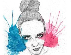 """Check out new work on my @Behance portfolio: """"Watercolor and Love."""" http://on.be.net/1HHvFNE"""