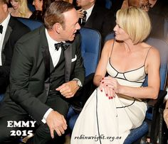 September 20th, 2015: Kevin Spacey and Robin Wright at the 67th Primetime Emmy Awards