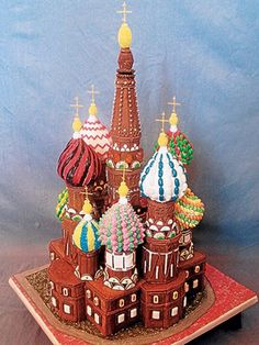 Amazing Traditional Christmas Gingerbread Houses_10