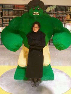 The Hulk 27 Brickin' Incredible Lego Creations IMAGE: IMGUR, REDSTR