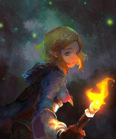 Ben Drowned, Zelda Video Games, Fan Drawing, Zelda Breath, Breath Of The Wild, Video Game Art, Legend Of Zelda, Princess Zelda, Fan Art