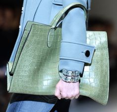 Gucci - Fall 2014-2015 - Jackie Soft Crocodile Top Handle Bag