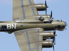 "B-17 Bomber ""Thunder Bird"" Tail #238050U."