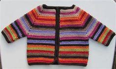Good idea for scrap yarn!